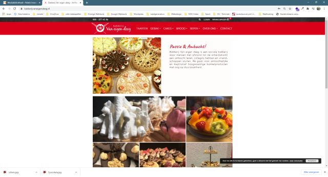 Pelatis Innovatie - website bakkerijvaneigendeeg