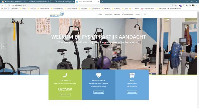 Pelatis Innovatie - website fysio-aandacht.nl