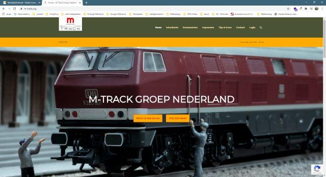 Pelatis Innovatie - website M-Track Groep Nederland