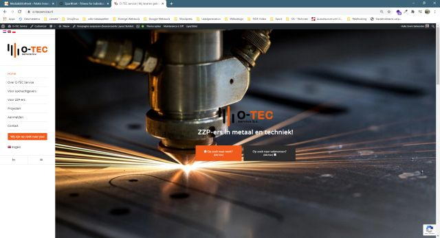 Pelatis Innovatie - website o-tecservice
